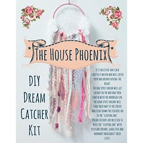 What Do Dream Catchers Do Adorable Harga Terbaru Pink DIY Dream Catcher Kit The Perfect Valentines Day
