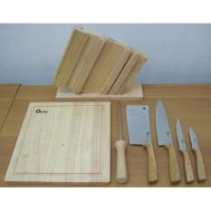 Pisau Wooden Knife Set Oxone OX-95