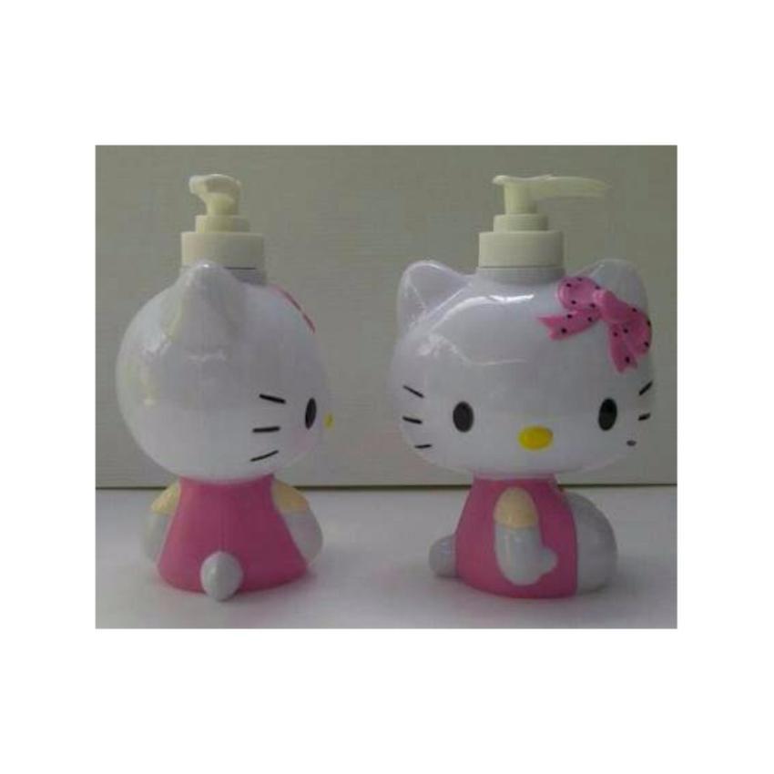 ... Pitaldo Botol Tempat Sabun Karakter Doraemon Dan Hello Kitty 2 Pcs