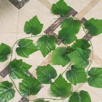... Plastik Buatan Ivy Leaf Garland Dedaunan Tanaman MerambatBunga-Bunga Dekorasi Rumah HPX - - 4 ...