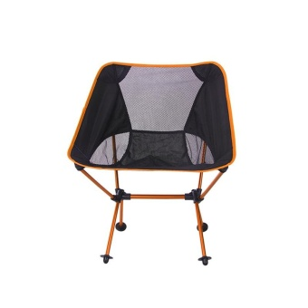 Portable Ultralight Folding Chair With Storage Bag Aluminum Alloy Oxford Chairs - intl