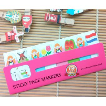 Post It / Sticky Notes / Kertas Memo Tempel / Memo Stick Lucu Country - GM