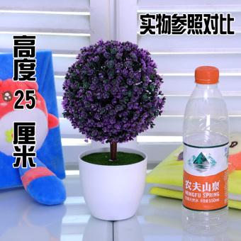 Pot tanaman simulasi tanaman pot kecil Bonsaii simulasi bunga