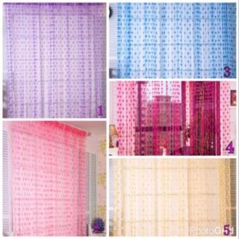 ... Prime Tirai Benang Cantik Motif Love 3 Pcs - 3 ...