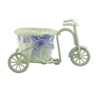 harga Putaran Roda Besar Keranjang Rotan Mengapung Vas Bunga Pot BungaKecil Bunga Pot Bunga Kontainer Sepeda Ungu Muda Lazada.co.id