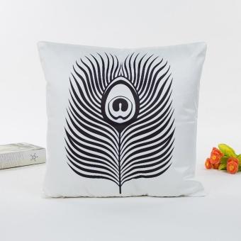 Jual Rayon Pillow Sofa Waist Throw Cushion Cover Home Decor Cushion Cover Case - Intl ...
