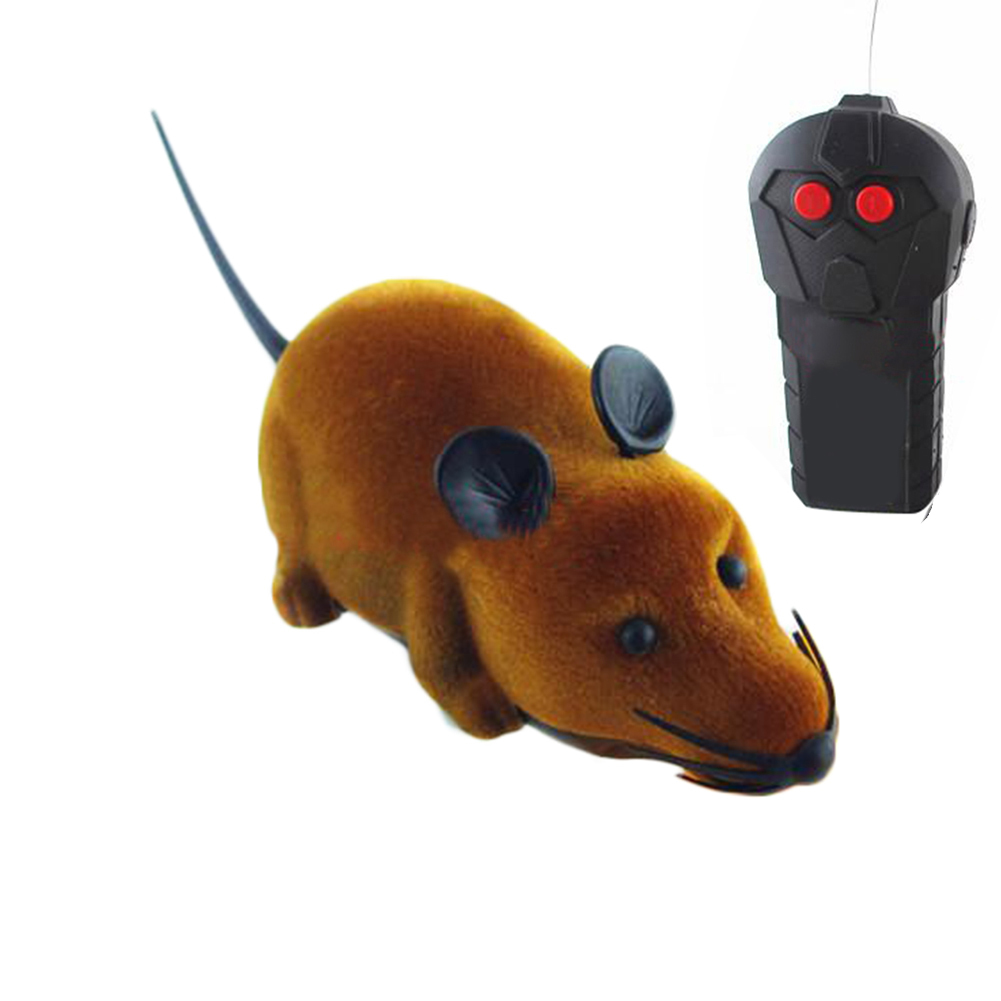 ... Remote Control Rat Mouse Toy For Cat CAT dog PET pet Novelty GiftFunny Gray- ...