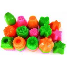 Rosita 156pcs Cetakan Puding/Putu Ayu/Kue Mangkok/Bolkus/Talam Plastik Food Grade