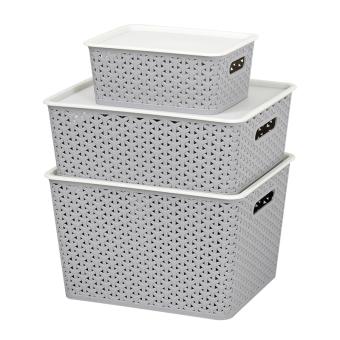 Rotan berongga laundry kotak penyimpanan kotak penyimpanan kotak penyimpanan
