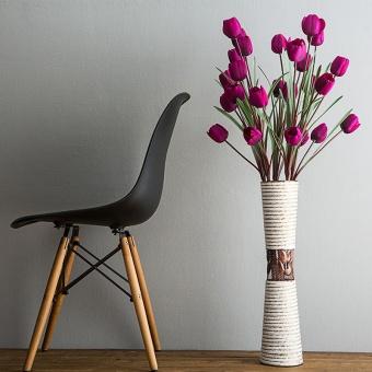 harga Ruang tamu bunga buatan bunga lantai vas Lazada.co.id