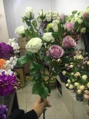 Ruang Tamu Meja Tamu Pintu Masuk Ornamen Bunga Bunga Mawar .