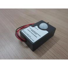 Saklar Sensor Gerak (Kehadiran Seseorang) Otomatis - Motion Sensor Untuk Lampu, Kipas, Alarm, Dll