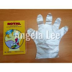 Sarung Tangan Plastik Premium Serbaguna Royal isi 100lembar