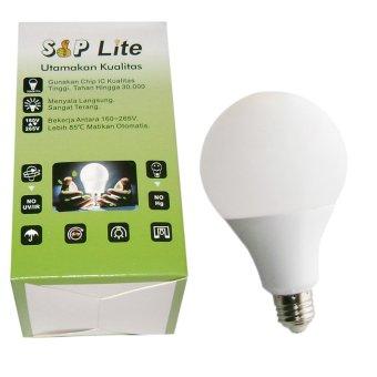 harga SipLite Cahaya Terang Bohlam Lampu Led Globe 70Mm S-7 Watt - Putih Lazada.co.id