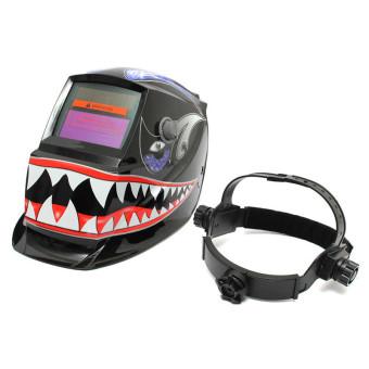 ... Solar Welder Mask Electrowelding Auto-Darkening Welding Helmet Shark Mouth - Intl - 4 ...