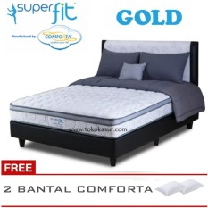 Spring Bed Comforta Super Fit Gold Uk.180x200 Komplit Set