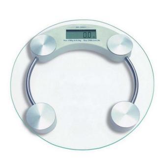 harga StarHome Timbangan Badan Digital Kaca Bundar 33 cm - Digital WeightScale Lazada.co.id