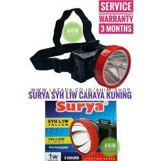 Lanjar Jaya Lampu Tancap 1 LED Tenaga Surya Stainlees Garden Lamp Solar Cell + Gantungan PintuIDR33000