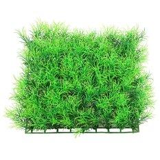Tanaman Rangkaian Rumput Bunga Pohon Plastik Artificial Artifisial Sintetis Kotak - A