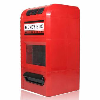 The Money Box Looks Like A Shredder - Celengan Penghancur Merah - 4