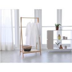 The Olive House - Gantungan Baju Bambu 1 Susun