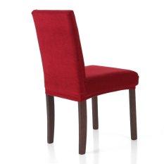 Tinggi Kualitas Lembut Poliester Spandeks Penutup Kursi Stretch Removable Slipcover Hotel Dining Ruang Pertemuan Chair Seat Cover-Intl