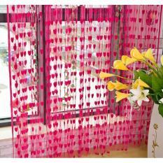 Tirai Benang Motif Love Tirai Lucu Tirai Penghias Rumah Tirai Penghias Ruangan Tirai .