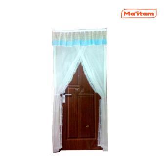 Harga Tirai Benang Motif Love Warna Pink Mawar88shop Rumah Tangga Source · Tirai Pintu 210x100cm