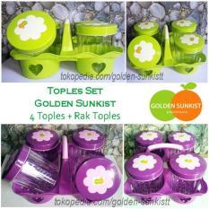 Toples Lebaran Golden Sunkist Isi 4 Food Grade