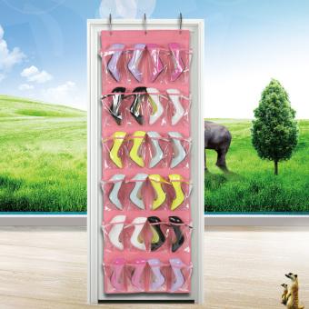 ... Transparan dinding tiga dimensi pencetakan sepatu tas penyimpanan tas