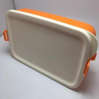 BELI SEKARANG Tupperware Click To Go Satuan Tempat Makan - Orange Klik di sini !!!