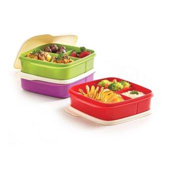 Tupperware Lolly Tup 3pcs- Multi Colour