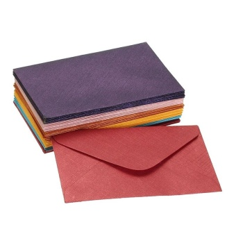 Vintage small colored blank mini paper envelopes wedding invitation envelope /gilt envelope - intl - 2