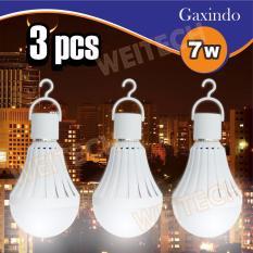 WEITECH LAMPU BOHLAM EMERGENCY 3PCS GX-1017 7W