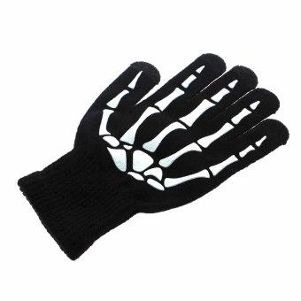 Whyus wanita/pria hangat tulang jari sarung tangan layar sentuhuntuk ponsel pintar Tablet - International - 5
