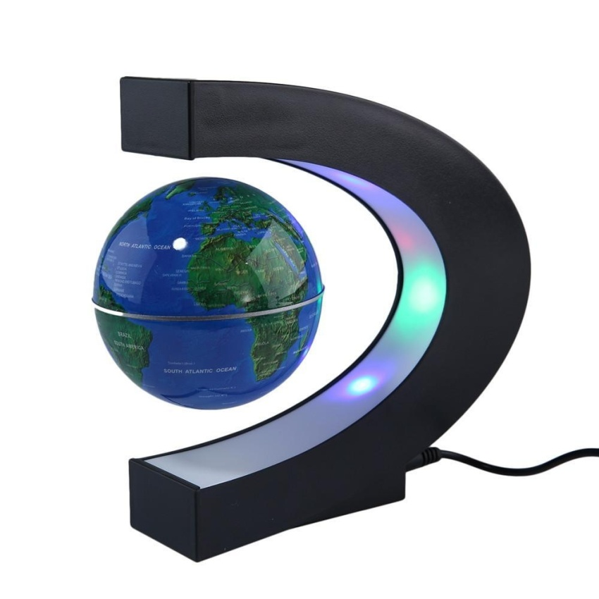 360 Degree World Map.Dijual Womdee Globe 360 Degree Perfect Show Funny C Shape Magnetic