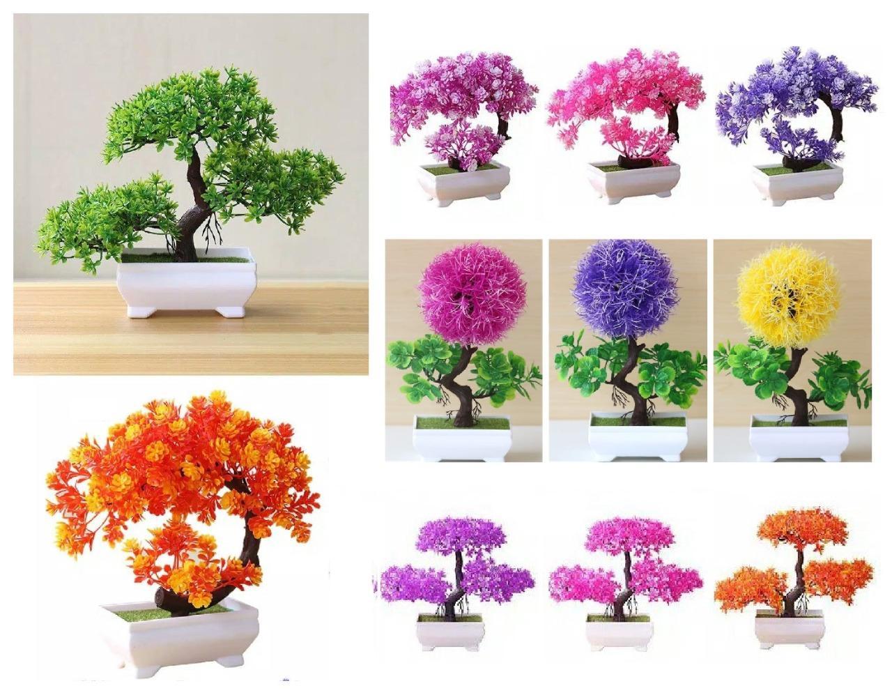 Vinstelle Ornamen Tanaman Pohon Hias Bentuk Bonsai Dekorasi Bunga Plastik Artificial Flower Hiasan Rumah Lazada Indonesia