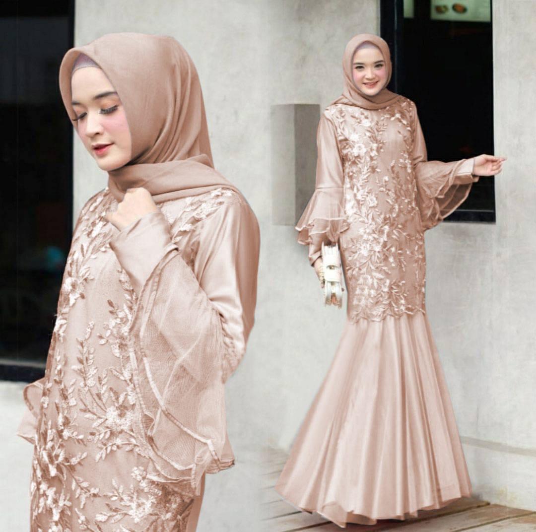 Baju Gamis Wanita Terbaru 9 / Baju gamis model Duyung ervira