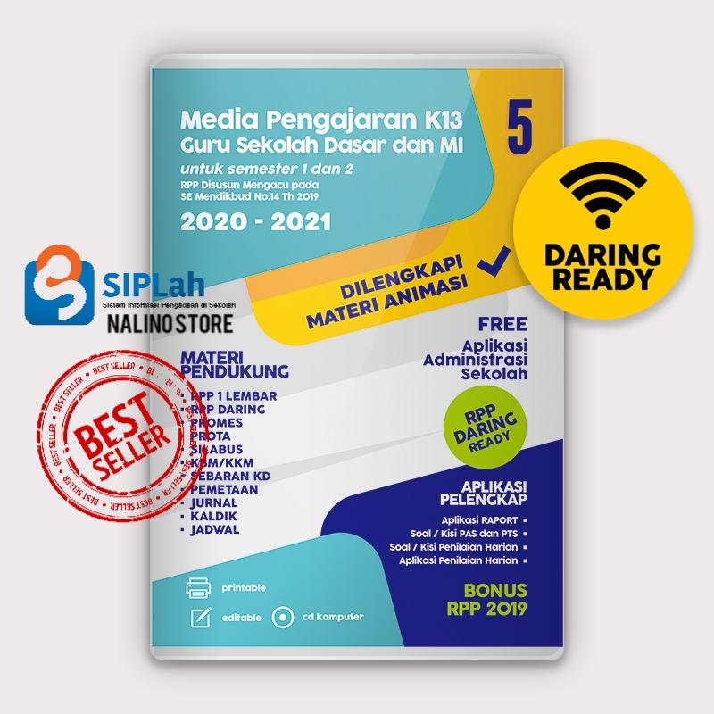 Cd Rpp 1 Lembar Rpp Daring Kelas 6 Sd Dilengkapi Media Animasi K13 Revisi Terbaru Sintesa Lazada Indonesia