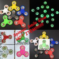 1 Pcs Fidget Spinner Hand Spinner Spiner SMILE Hand Toys Focus Games / Mainan Spiner Tangan