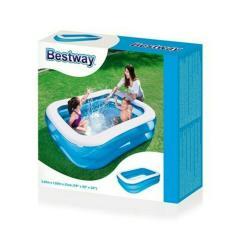 17000330 Bestway Kolam Renang Anak Kotak Polos 54005