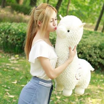 35cm Height Alpaca Dolls Mud Horse The Beast Sheep Dolls Pillow Plush Toys Grab The Machine Dolls YL243 - intl