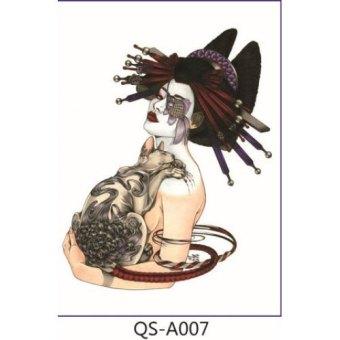Menggantung Qiao Stiker Tahan Air Sementara Tato Lengan Kupu Kupu Source · 3D individualitas desain tahan air sementara lengan tato bunga International