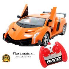 AA Toys Out Rider Car Model Radio Control Orange Scale 1:24 BO - Mainan Mobil Remot Control