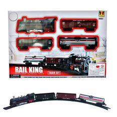 AA Toys Rail King Train Set BO Mainan Kereta API