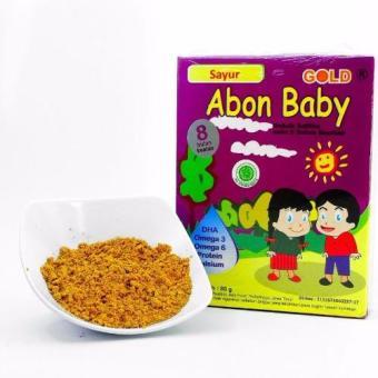 Abon Baby Gold sayur 80gr