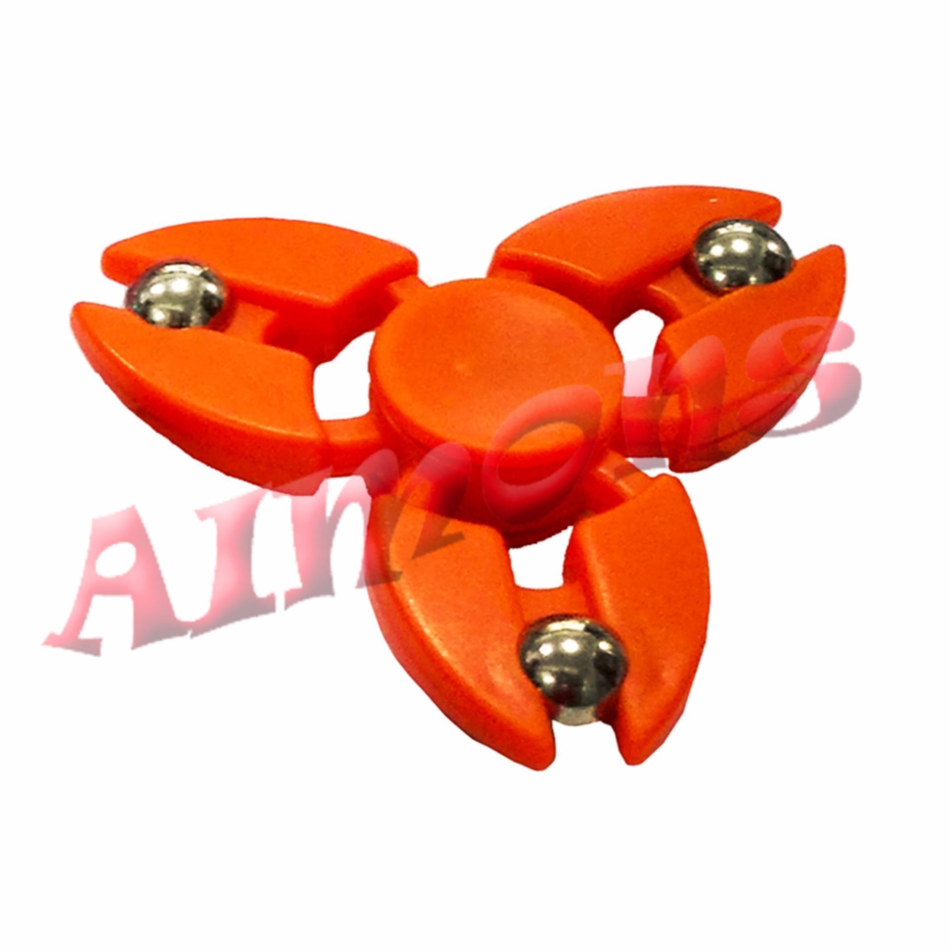 Belanja Terbaik Aimons Hand Fidget Spinner Model Suriken Focus Toys With Led Games Mainan Tangan Random Colour