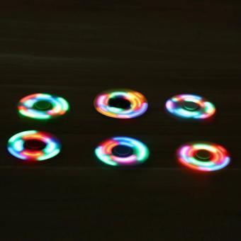 Harga AIUEO Fidget Spinner LED New Exotic Hand Toys Mainan Tri Spinner EDC Focus Games Fidget