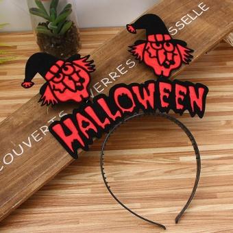REVIEW AJKOY Halloween Hair hoop pumpkin Witch hair Hoop – D – intl TERLARIS
