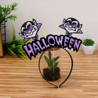REVIEW AJKOY Halloween Hair hoop pumpkin Witch hair Hoop – E – intl TERPOPULER